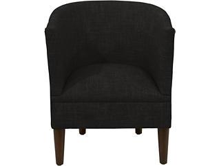 Bucktown Caviar Chair, Black, large