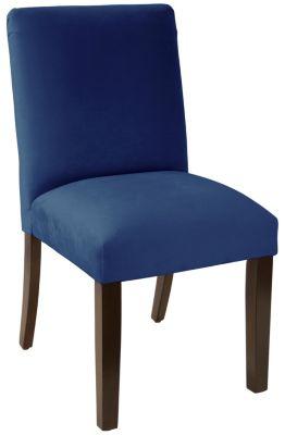 Warner Teal Parsons Chair Art Van Furniture