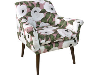 Miraculous Doone Accent Chair Gmtry Best Dining Table And Chair Ideas Images Gmtryco