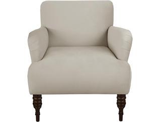 Edgewater Beige Chair, Beige, large