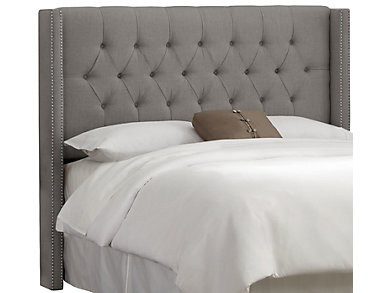 Alexis Full Wingback Headboard, , large