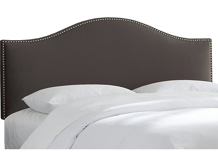 Queen Nailhead Headboard, , large