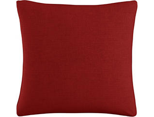 Kris Red 20x20 Down Pillow, , large