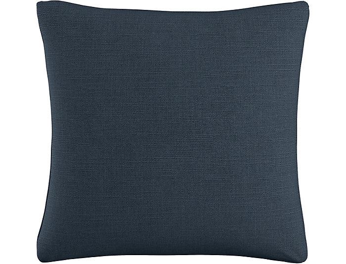 Kris Navy 20x20 Down Pillow, , large