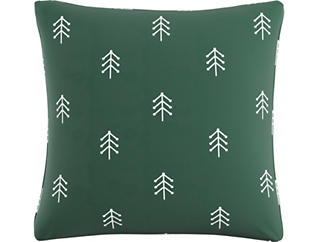 North Green 20x20 Down Pillow, , large