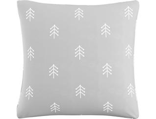 North Grey 20x20 Down Pillow, , large