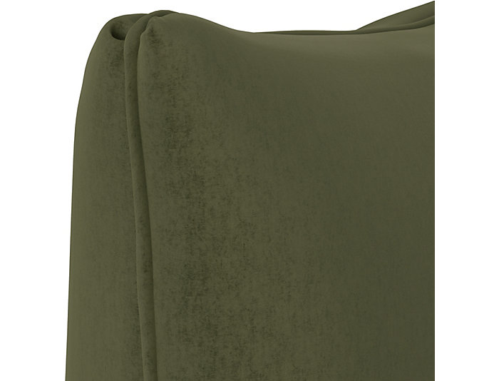 Lumi Green 20x20 Down Pillow, , large