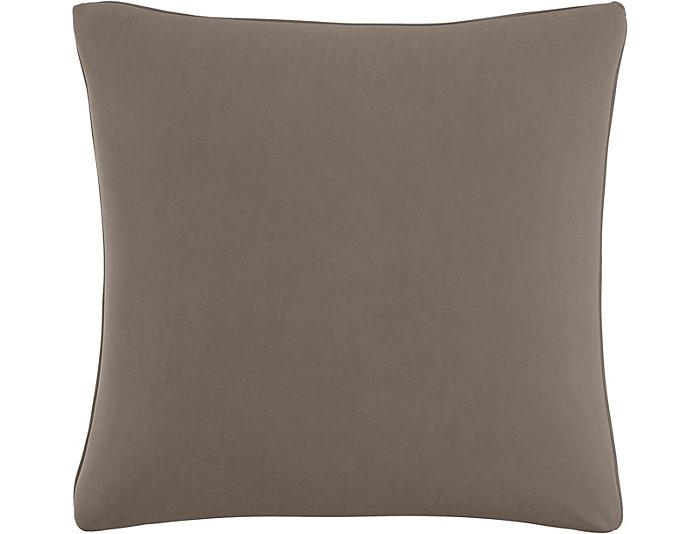 Lumi Grey 20x20 Down Pillow, , large