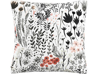 Noelle Red 20x20 Pillow, , large