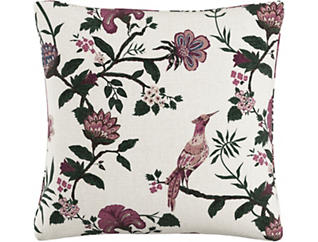 Ivy 20x20 Down Pillow, , large
