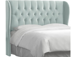 Queen  Wingback Headboard, , large