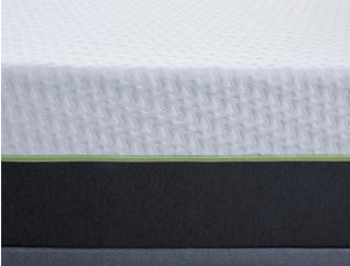 "Snoozecube Delorean 12"" Memory Foam Mattress & Foundations, , large"