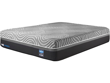 Sealy Silver Chill Hybrid Firm Mattress and Foundations, , large