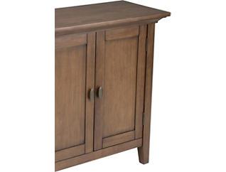 Malbert Rustic Brown Low Storage Cabinet, , large