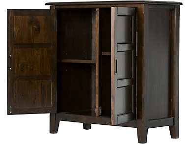 Cleveland Espresso Storage Cabinet, , large