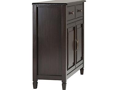 Tremont Dark Chestnut Brown Storage Cabinet, , large