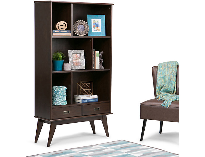 "Creswell 64"" Wide Bookcase, , large"