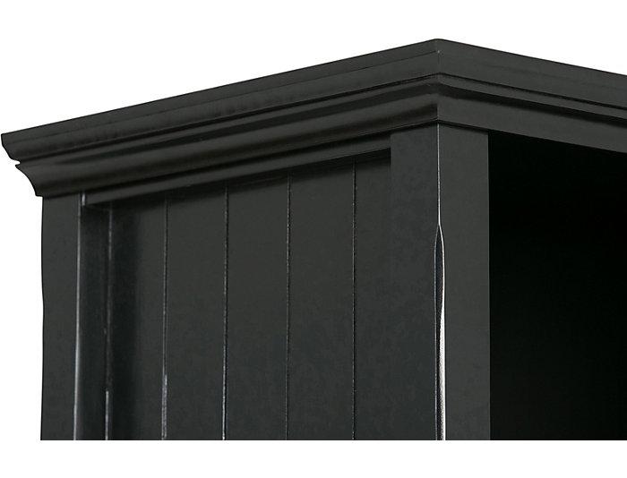 """Dunes 48"""" Black Cube Bookcase, , large"""
