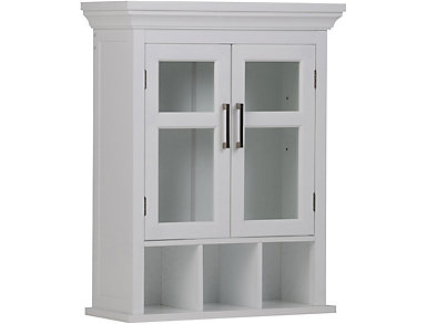 Dudley Large Bath Wall Cabinet, , large