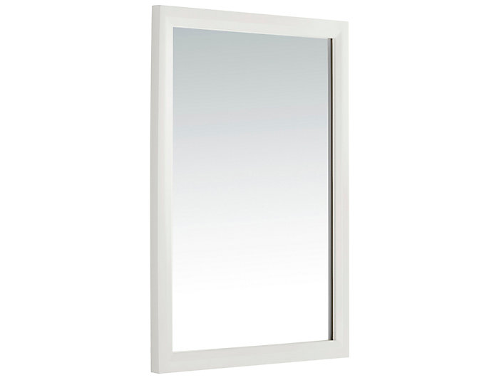 Ashland White Vanity Mirror Art Van Home