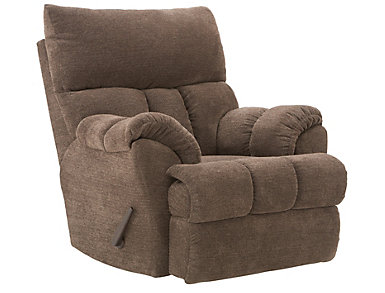Southern Motion Refueler Rocker Recliner, Brown, , large