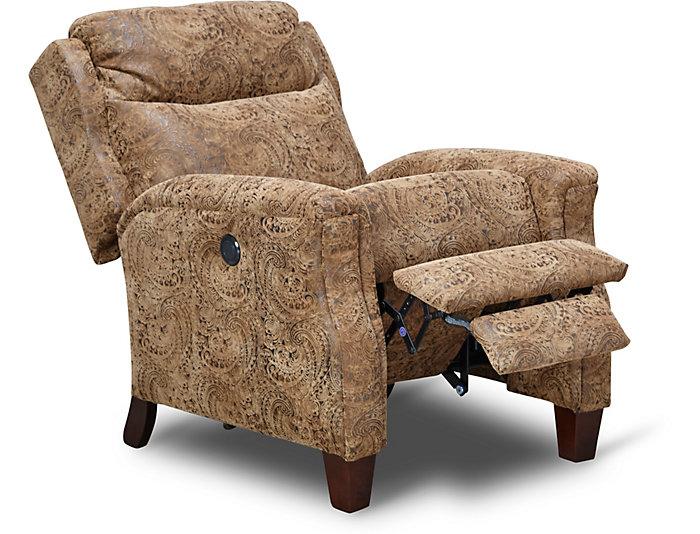 Pleasing Bowie Power Hi Leg Recliner Creativecarmelina Interior Chair Design Creativecarmelinacom