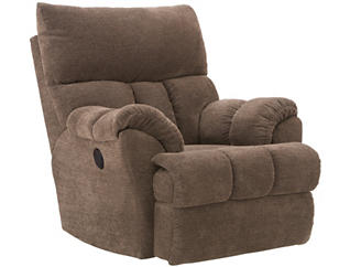 Southern Motion Refueler Power Recliner, Brown, , large