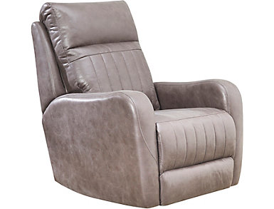 SoCozi Rocker Massage Recliner, Grey, , large