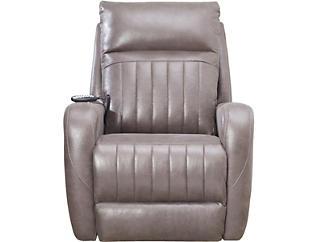 SoCozi Grey Triple Power Rocker Massage Recliner, , large
