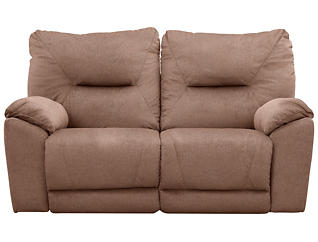 Southern Motion Dynamo Reclining Loveseat, Brown, , large