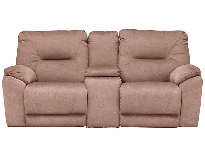 Southern Motion Dynamo Reclining Console Loveseat, Brown, , large