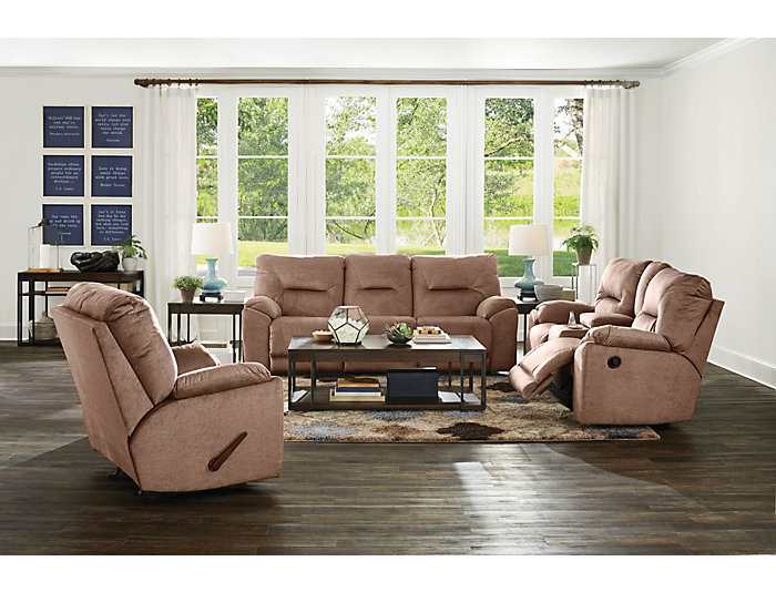 Southern Motion Dynamo Reclining Sofa, Brown, , large