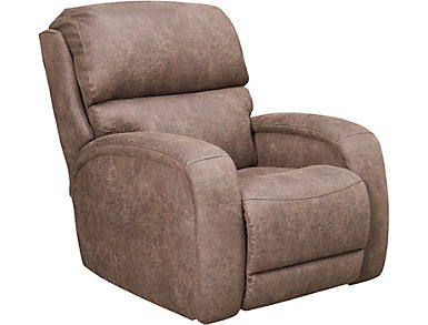 SoCozi Massaging Wall Recliner, Brown, , large