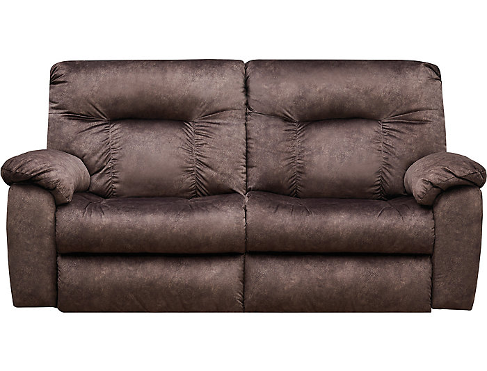 ... Southern Motion Big Shot Dual Power Reclining Sofa, Chocolate Brown, ,  Large ...