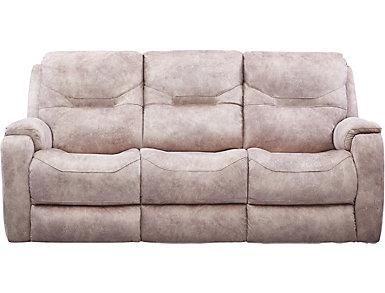 Royal Flush Dual Power Reclining Sofa, , large