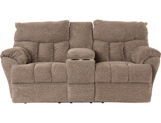 Outstanding Dylan Power Console Leather Reclining Loveseat Creativecarmelina Interior Chair Design Creativecarmelinacom