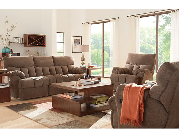 Southern Motion Refueler Power Reclining Loveseat, Brown, , large