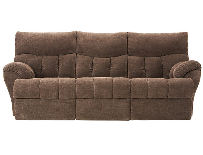 Southern Motion Refueler Reclining Sofa Brown Large