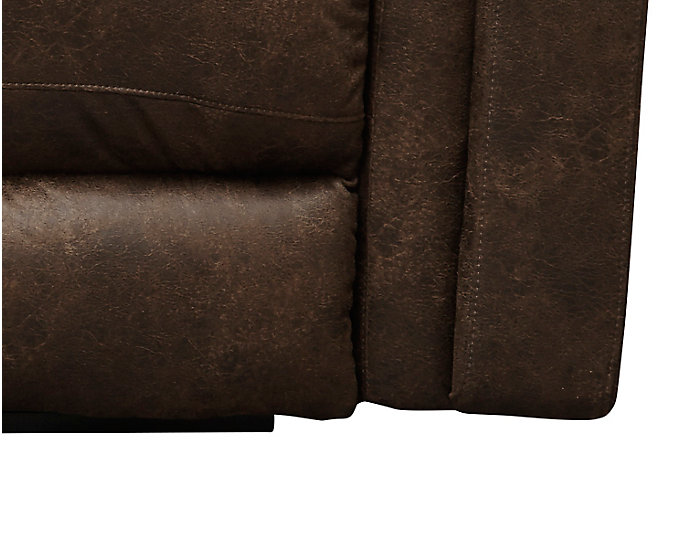 Southern Motion Avatar Reclining Loveseat, Brown, , large