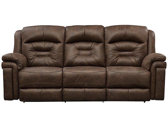 Southern Motion Avatar Reclining Sofa, Brown, , Large ...