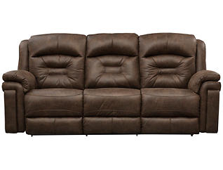 Southern Motion Avatar Reclining Sofa, Brown, , large
