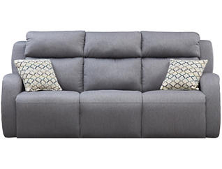 Southern Motion Grand Slam Reclining Sofa, Grey, , large