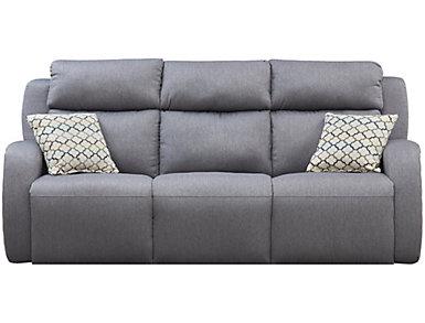 Grand Slam Dual Power Reclining Sofa, , large