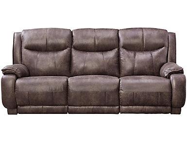Velocity Dual Power Reclining Sofa, , large