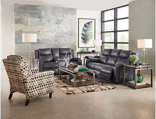 Marvel Reclining Console Loveseat, , large