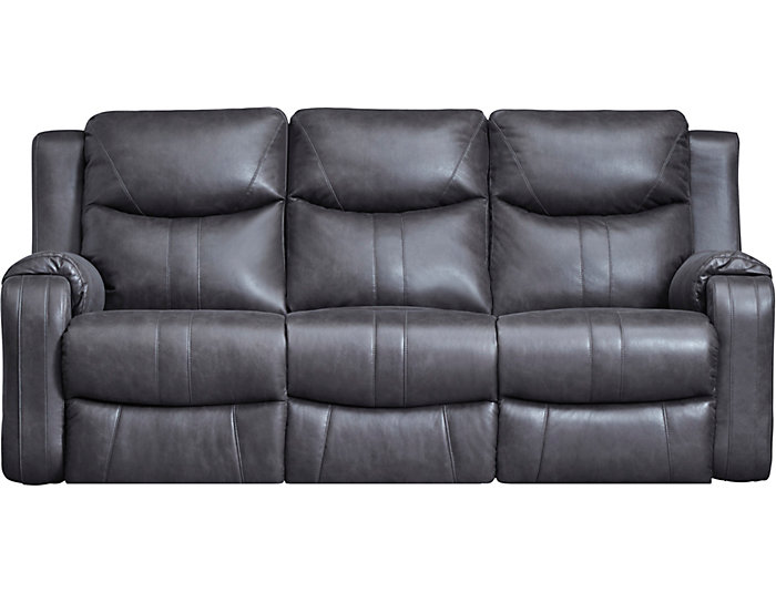 Marvel Grey Reclining Sofa