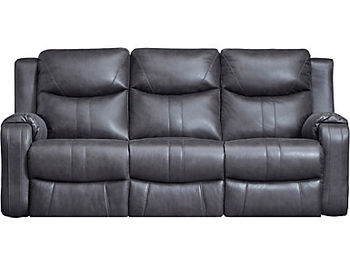 Southern Motion Marvel Power Reclining Sofa, Grey, , large