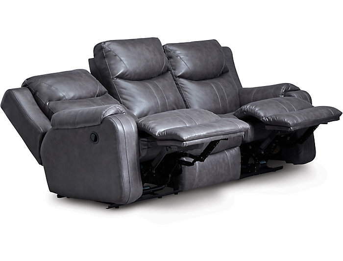 Southern Motion Marvel Reclining Sofa, Grey, , large