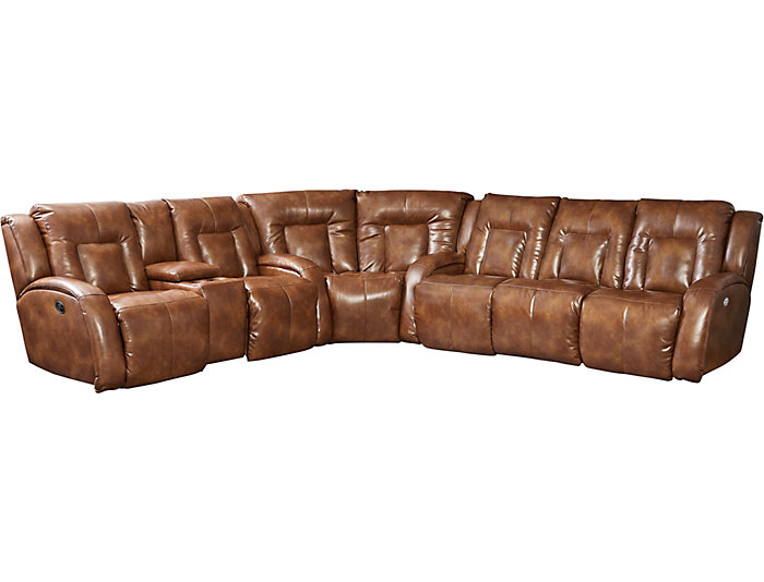 3-PC Sectional w/ Power Sofa, , large