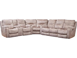 3 Piece Sectional W/DLPWR Love, , large